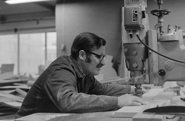Woodworkshops  1973-1990 in Helsinki